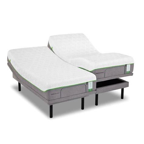 tempur pedic ergo dual california king adjustable bed base reviews wayfair