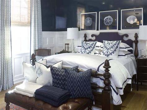 Decorating Ideas With Navy Blue Bedroom Room Decorating Blue And White Bedroom Decorating Ideas