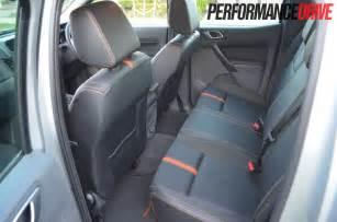 2012 ford ranger wildtrak rear seat leg room