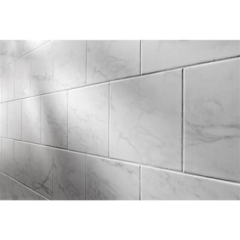Shop American Olean Mooreland Carrara White Glazed Ceramic