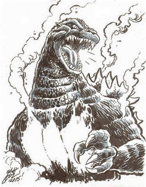 burning godzilla coloring pages burning godzilla space godzilla vs worthy thor unworthy