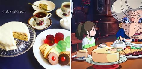 film anime cooking japanese woman recreates food from anime films