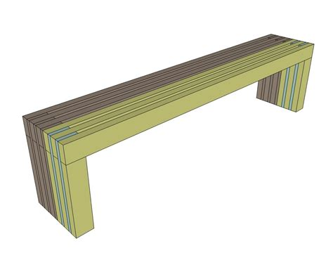 simple outdoor bench design ana white build a modern slat top outdoor wood bench