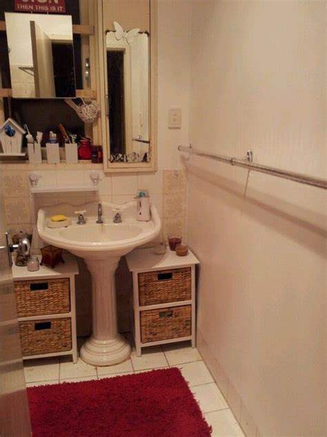 29 Best images about Pedestal Sink storage on Pinterest