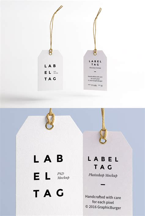 Hang Tag Label Tag Baju Aksesoris Fashion Sticker Murah Grosir Newcute a complete collection of free product packaging mockups 2016