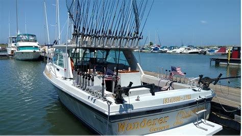 charter boat fishing erie pa lake erie charters for walleye perch