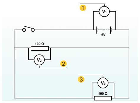 voltage across resistor in parallel circuit standard grade bitesize physics useful circuits revision page 5
