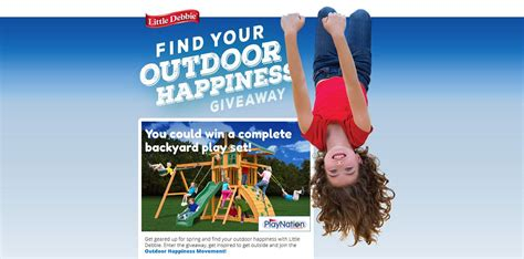 Little Debbie Giveaway - little debbie find your outdoor happiness giveaway