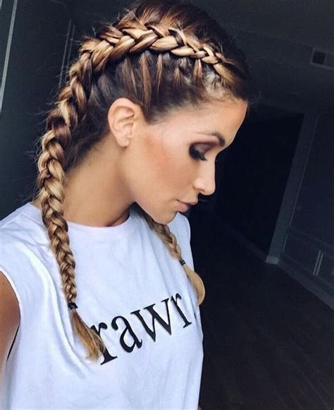 plaited hair styleson black hair best 25 two french braids ideas on pinterest