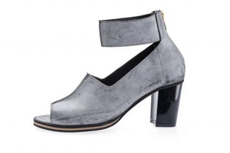 light gray peep toe heels ankle peep toe heel wedding shoes washed light