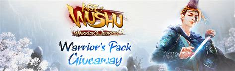 Warriors Giveaways - age of wushu warrior s pack giveaway mmohuts