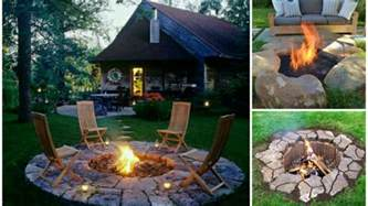 Backyard Fire Pit Casual Cottage » Home Design