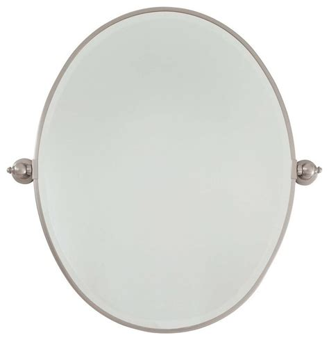 oval pivot bathroom mirror minka lavery pivot mirrors large oval mirror traditional