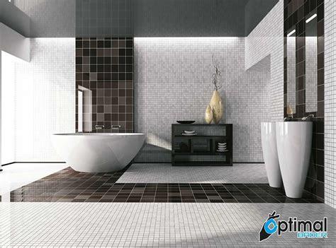 Black And White Tile Ideas For Bathrooms - optimal baeder
