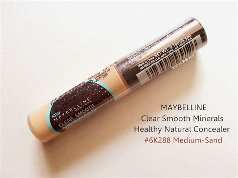 Harga Concealer Sariayu 2015 review maybelline clear smooth minerals healthy concealer 6k288 medium sand