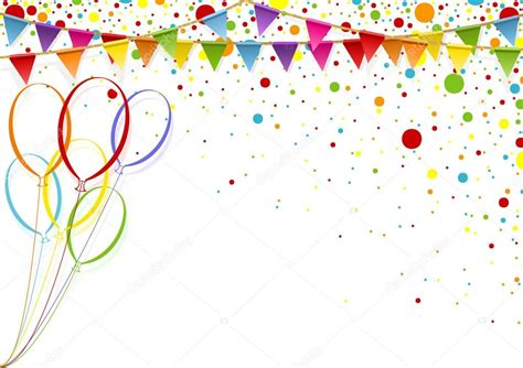 celebrate color celebration background with balloons stock vector