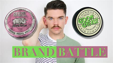 Pomade Goon Grease reuzel pink pomade vs lockhart s goon grease pomade