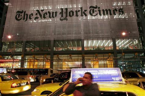 sede new york times new york times mucho m 225 s que un peri 243 dico televisi 243 n