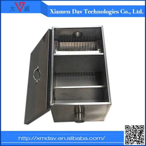 kitchen grease trap design oil and grease trap for restaurant wastewater buy