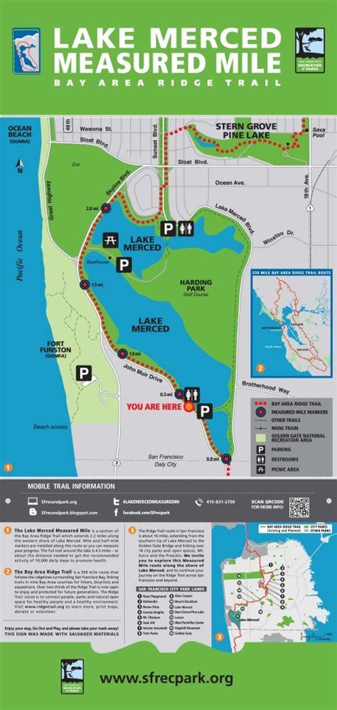 san francisco golf map lake merced park san francisco recreation and park