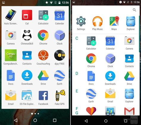 mobile with android lollipop android marshmallow vs android lollipop principales