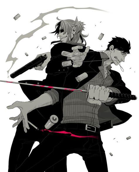 film anime gangster dossier gangsta kohske partie 2 manga news