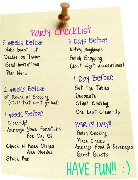 top 25 ideas about planning checklist on