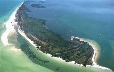 tarpon springs boat rental anclote island aerial view rent a boat from island marine