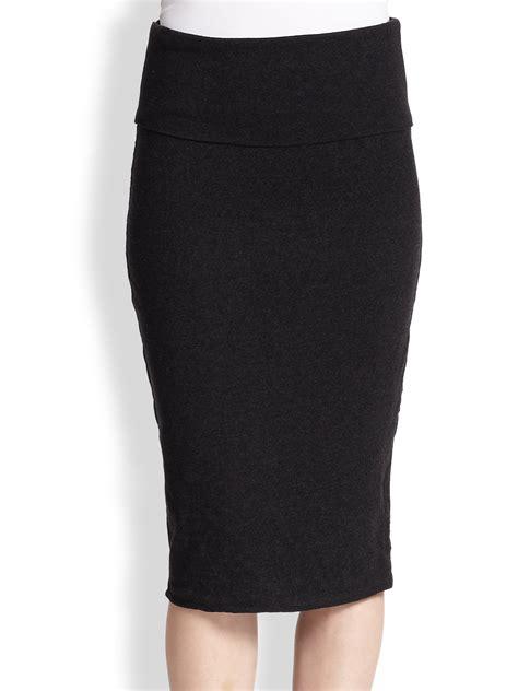 Cotton Pencil Skirt black cotton pencil skirt big