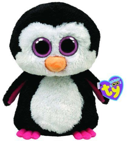 F Buddies Pink ty beanie boos buddies paddles the penguin