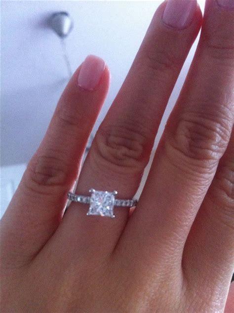 Best 25  Princess cut diamonds ideas on Pinterest