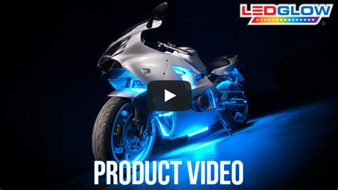 led blue lights for motorcycles blue led motorcycle accent light kit