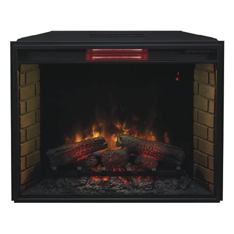 Infrared Electric Fireplace Classic 33 Quot 33ii310gra Infrared Electric Fireplace Insert Electric Fireplaces