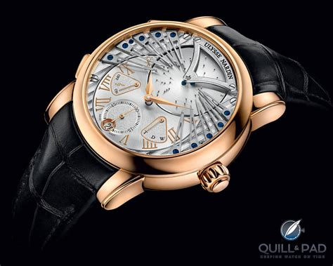 Ulysse Nardi 5 in house calibers from ulysse nardin quill pad