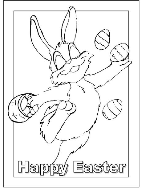coloring pages for easter cards printable greeting card of happy easter coloring pages