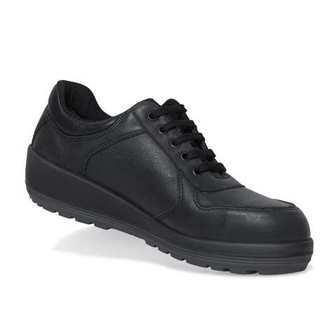 parade footwear brava black leather s3 lace up