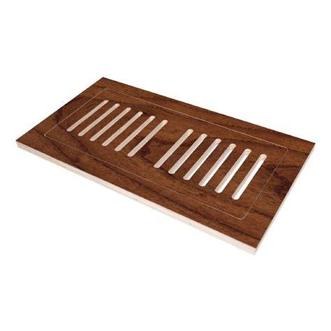 4 in x 12 in engineered hardwood flush mount floor register teak huntington th4x12 the home