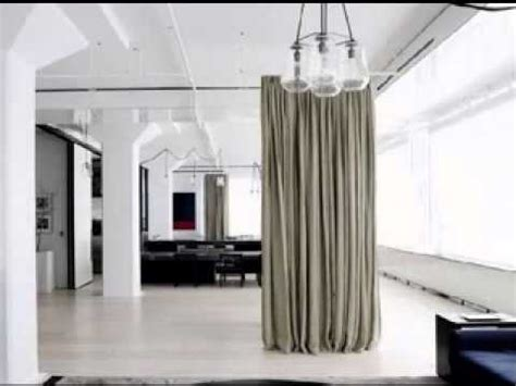 Sliding Glass Walls by Diy Hanging Room Divider Ideas Youtube