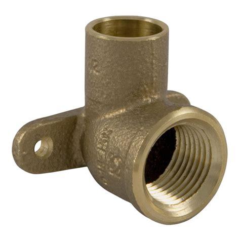 Pex Outdoor Faucet Nibco 1 2 Quot X 3 8 Quot C X Fip Copper 90 176 Drop Ear Elbow 707 3