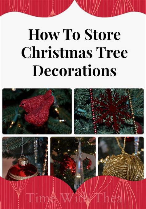 how to organize a christmas tree 26 best storage holidays images on