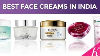 10 Best Face Creams in India with Price   Day Creams for