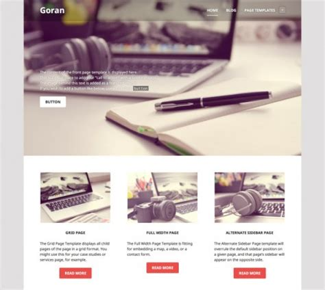 tutorial wordpress edin a list of 15 extensive free blog wordpress themes 2014