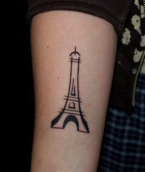 eiffel tower tattoos 57 eiffel tower tattoos
