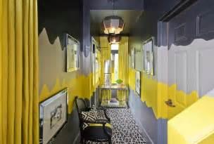 Curvy striped walls design ideas