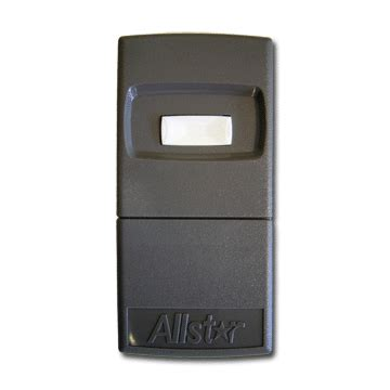 Allister Garage Door Openers Allstar Allister Pulsar 9921t Garage Door Opener Transmitter 318mhz