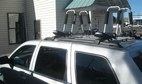 jeep grand kayak rack jeep grand roof rack guide photo gallery