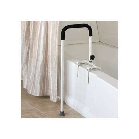 bathtub rails floor to tub bath rail grab bars and rails