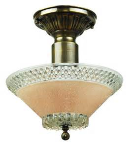Glass Ceiling Light Fixtures Vintage Hardware Lighting Antique Glass Ceiling Bowl Light Fixture Ant 803bowl