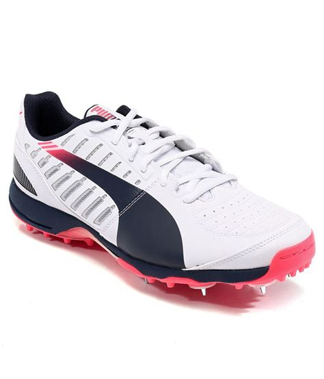 spike sport shoes evospeed cricket spike 1 3 white sport shoes price in