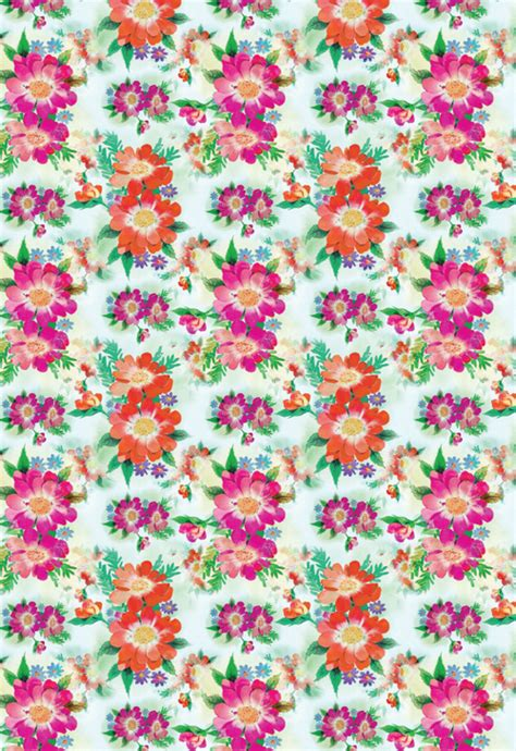 My Little Pony Gift Wrapping Paper - bright blooms printable wrapping paper allfreepapercrafts com